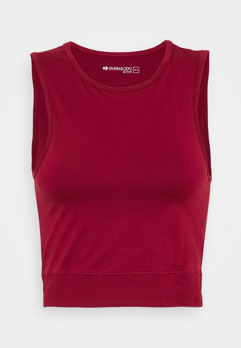 Even&Odd active - SEAMLESS  - Top - red