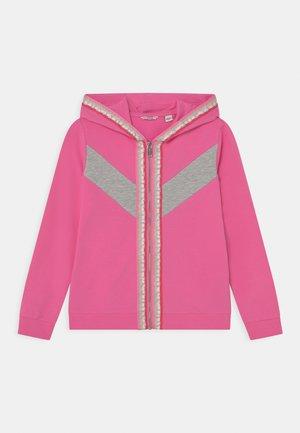 JUNIOR HOODED ACTIVE  - Zip-up sweatshirt - rose