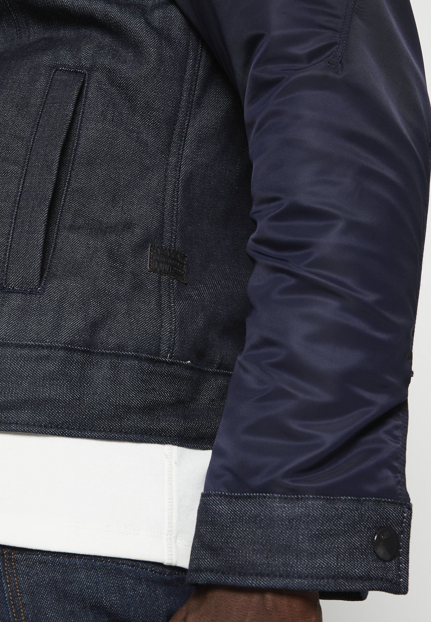 GStar ARC 3D SLIM PADDED Jeansjacke kir denim/raw denim/darkblue denim