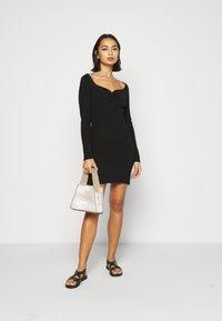 Fashion Union Petite - OBERLIN - Jumper dress - black - 1