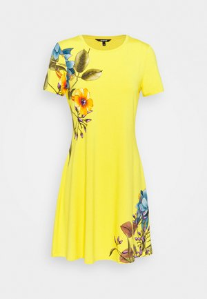 LAS VEGAS - Jersey dress - yellow