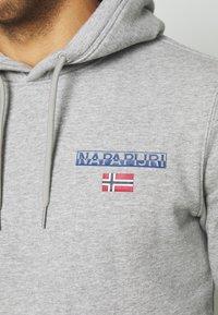 Napapijri - ICE - Luvtröja - medium grey melange - 5