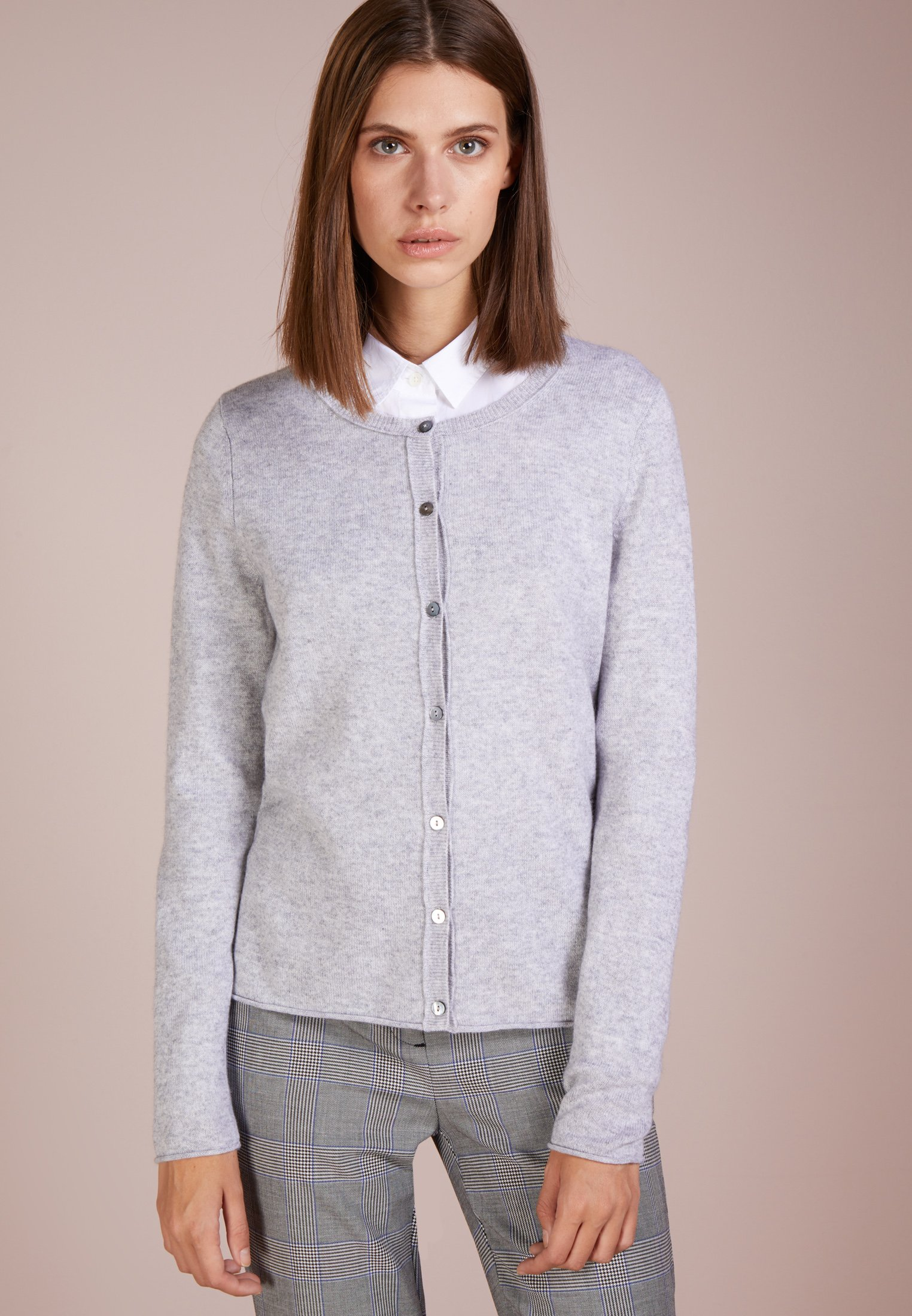 FTC Cashmere CARDIGAN - Vest - grey - Dames jas Aanbod