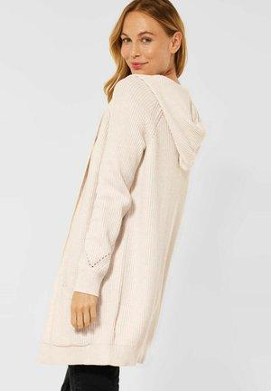 MIT STRUKTUR - Cardigan - beige