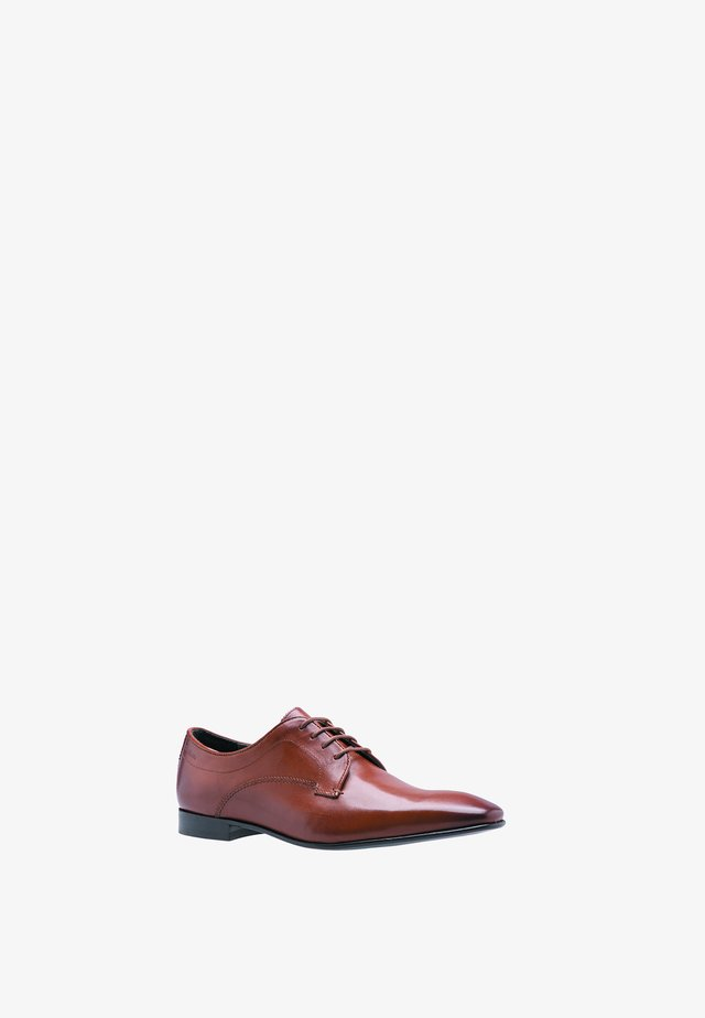ALAN  - Smart lace-ups - cognac