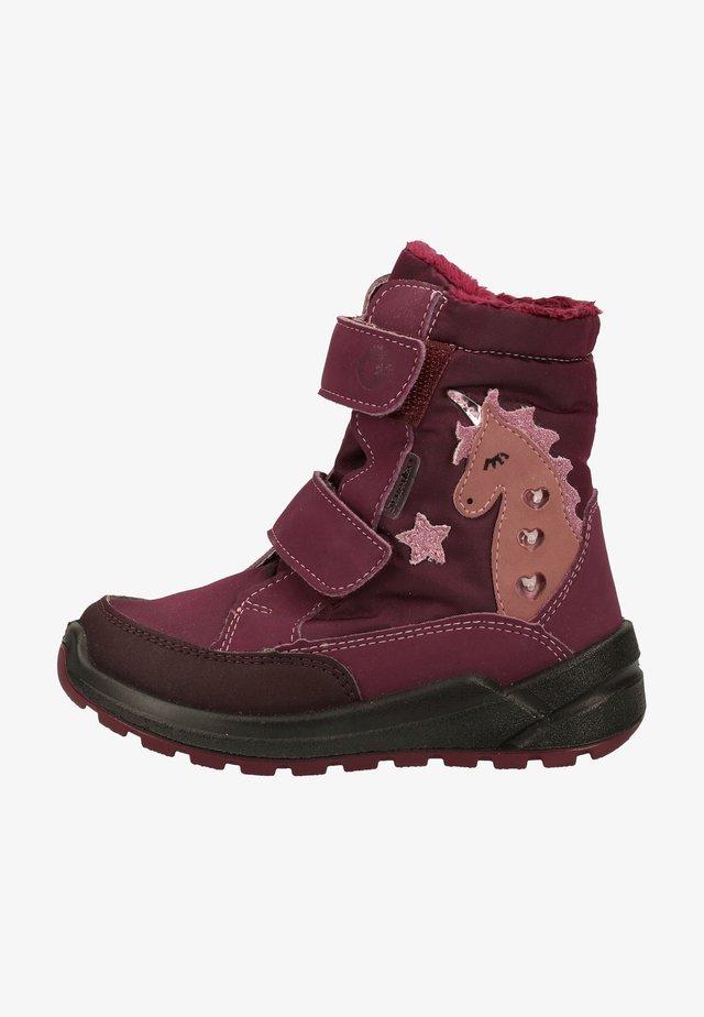 Winter boots - merlot 382