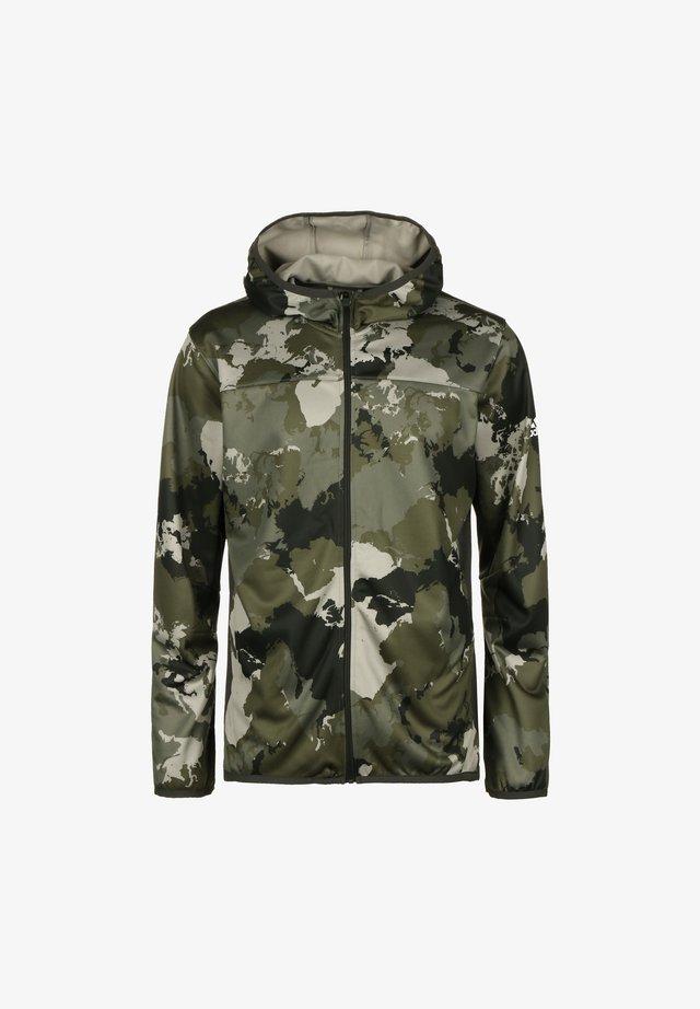 veste en sweat zippée - feather grey