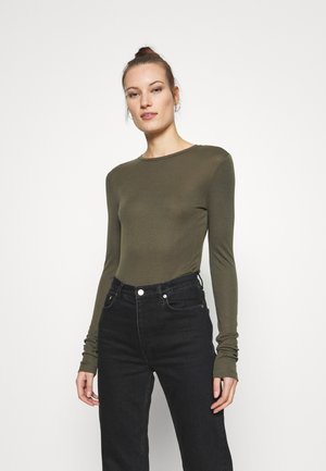 MONA - Long sleeved top - grape leaf