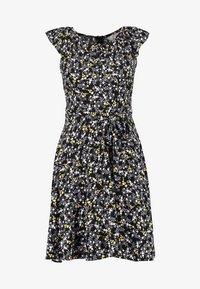 Dorothy Perkins Petite - DITSY BUTTON DRESS - Day dress - black - 5