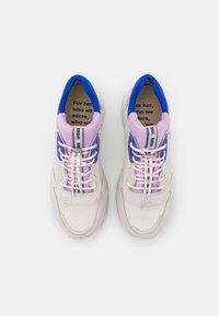 Bronx - BAISLEY - Trainers - offwhite/lilac/cobalt - 5