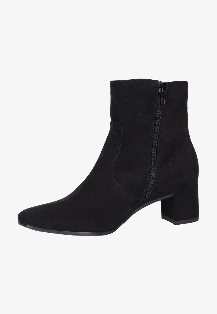Jenny - Korte laarzen - black