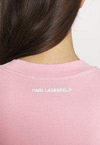 KARL LAGERFELD - BALLOON LOGO  - Sweatshirt - pink - 5