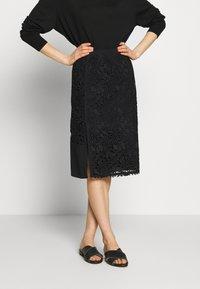 N°21 - Pouzdrová sukně - black - 0