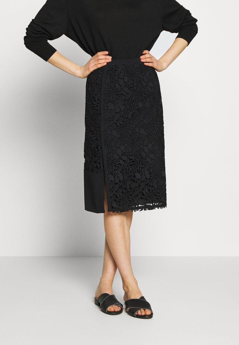 N°21 - Pouzdrová sukně - black