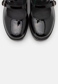 Koi Footwear - VEGAN MURA DOUBLE STRAP SHOES - Platform heels - black - 5