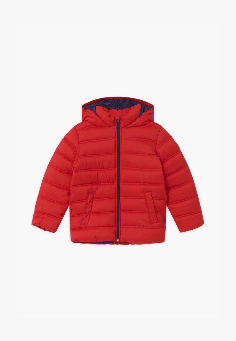 Benetton - BASIC BOY - Zimní bunda - red