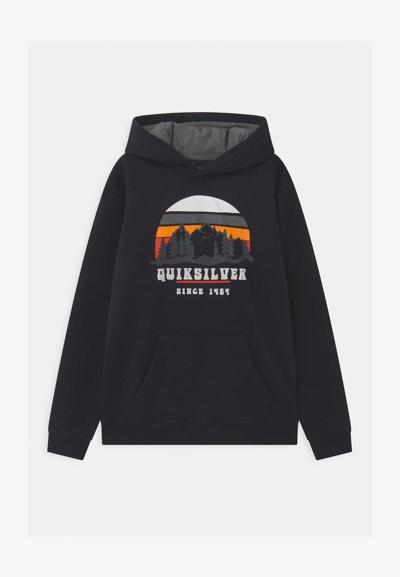 Quiksilver - BIG LOGO YOUTH - Collegepaita - true black