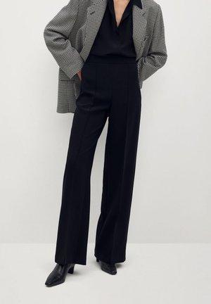 PALAZZO - Pantalon classique - schwarz