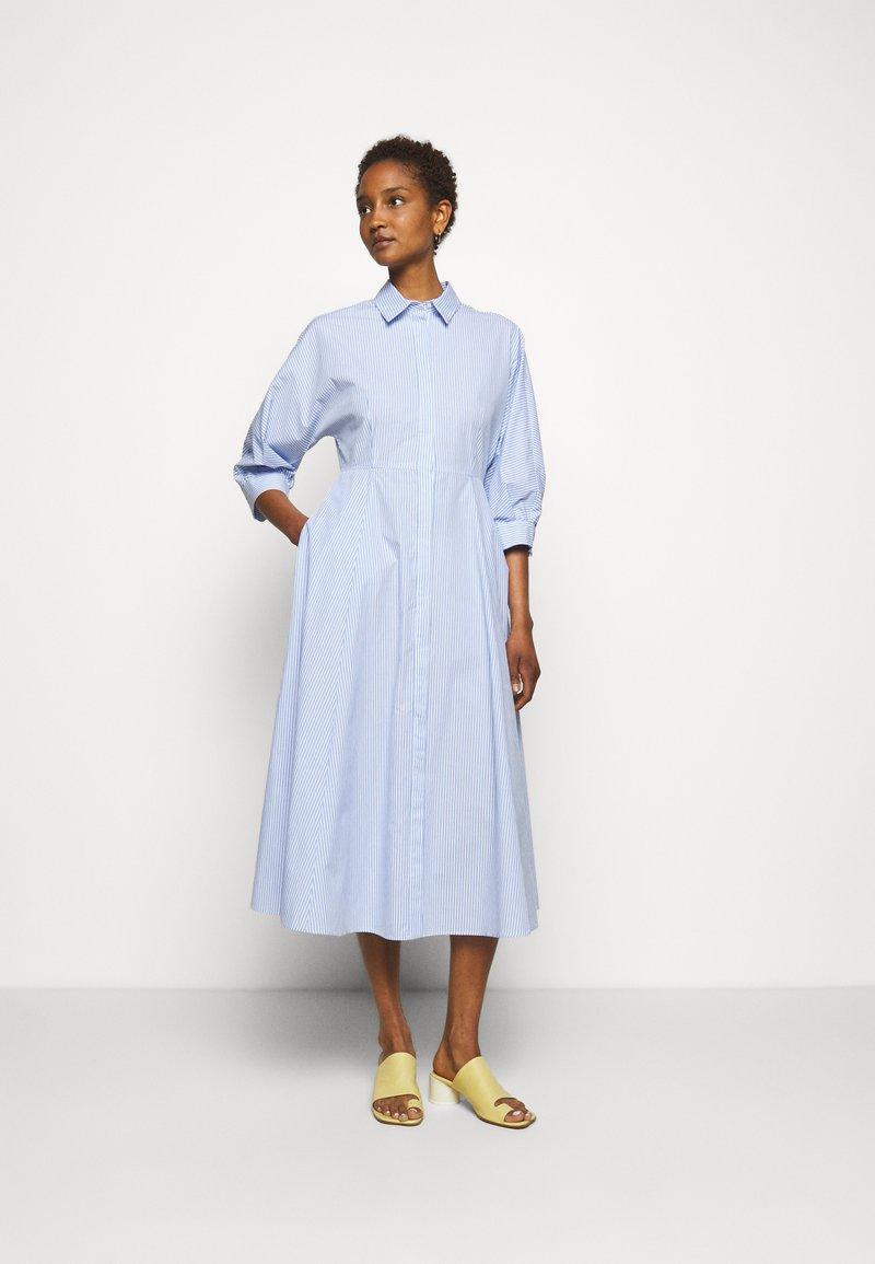 MAX&Co. - CARLO - Shirt dress - light blue