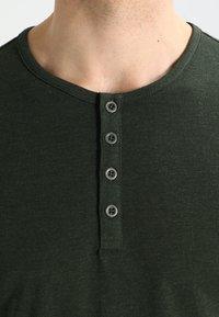 Pier One - Top sdlouhým rukávem - khaki - 3