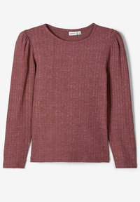 Name it - Langærmede T-shirts - wild ginger - 3