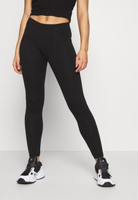 Even&Odd Petite - Leggings - Trousers - black - 0