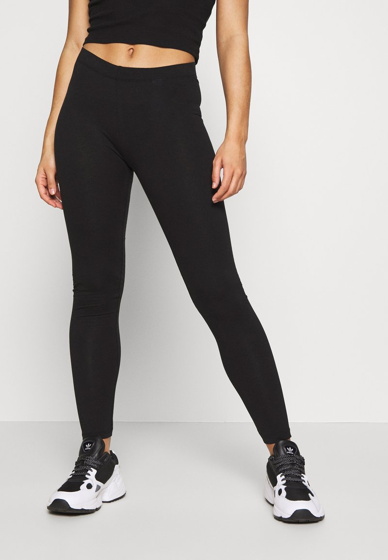 Even&Odd Petite - Leggings - Trousers - black