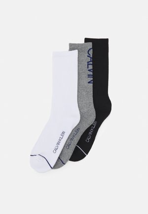 MENS CREW ATHLEISURE GAVIN 3 PACK - Calze - grey/white/black