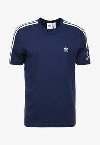 adidas Originals - TECH TEE - T-shirts med print - navy - 4
