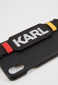 KARL LAGERFELD - CASE WITH STRAP MAX - Étui à portable - black - 2
