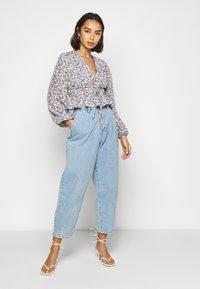 Fashion Union Petite - Blouse - blue - 1