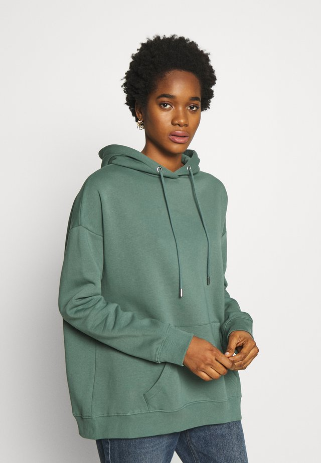 OVERSIZED HOODIE - Jersey con capucha - green