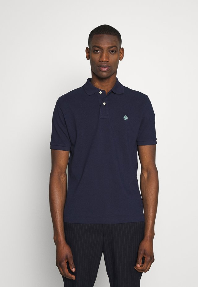 BASIC - Polo - dark blue