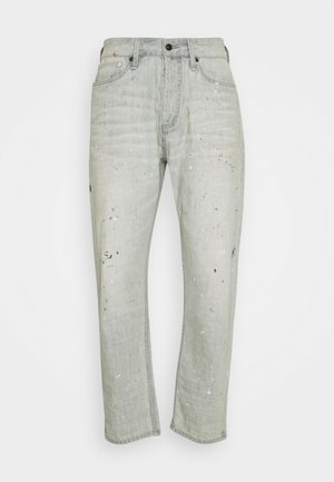 CROP LENGTH - Relaxed fit -farkut - grey