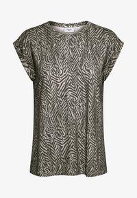 Saint Tropez - Print T-shirt - ombre blue zig zebra - 4