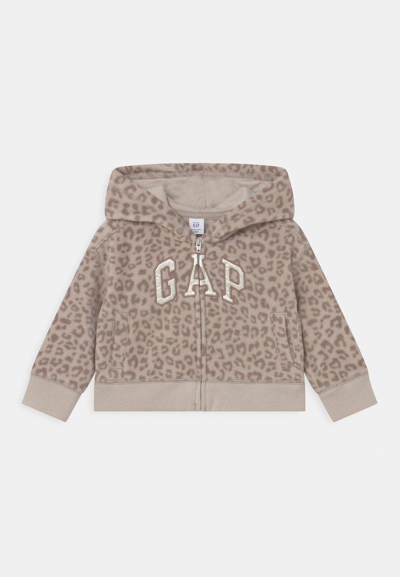 GAP - LOGO ACTIVE  - Fleece jacket - grey