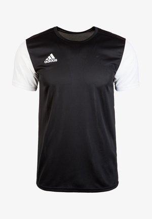 ESTRO 19 - T-shirt print - black