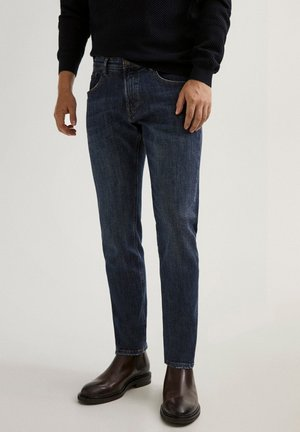STONE-WASHED IM SLIM-FIT - Slim fit jeans - blue