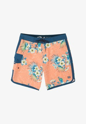 "73 LINE UP PRO 19""  - Swimming shorts - neon melon"