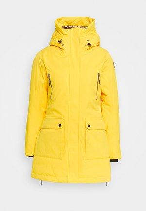 ALLENDALE - Winter coat - yellow