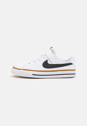 COURT LEGACY UNISEX - Tenisky - white/black/desert ochre/light brown
