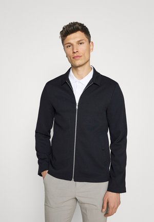 ZIP THROUGH - Giacca leggera - navy
