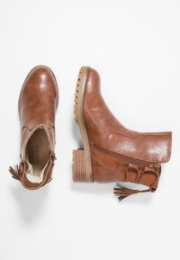 Anna Field - Lace-up ankle boots - cognac - 3