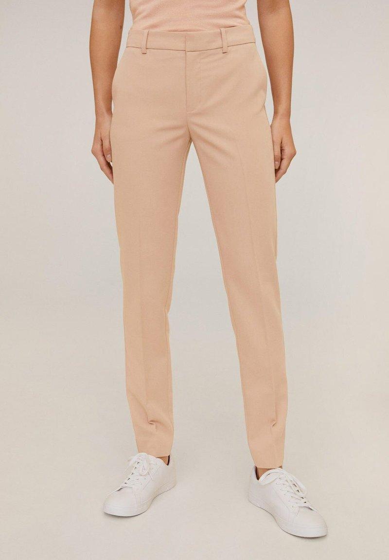 Mango - BOREAL6 - Spodnie garniturowe - rosa