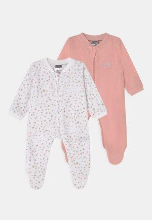 GIRLS 2 PACK - Sleep suit - pink