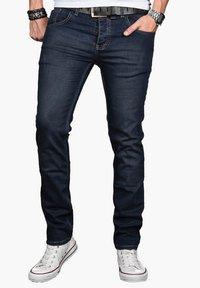 Alessandro Salvarini - Slim fit jeans - indigo - 0