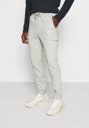 Spodnie treningowe - mottled light grey
