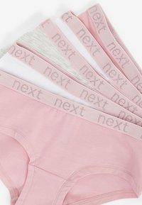 Next - 5 PACK - Pants - pink - 7