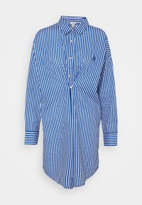 River Island - DAYNA ADJUST DRESS - Shirt dress - blue - 5