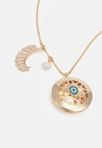 Anton Heunis - LONG CHAIN WITH LOCKET AND CHARMS - Ketting - blue/cream - 3